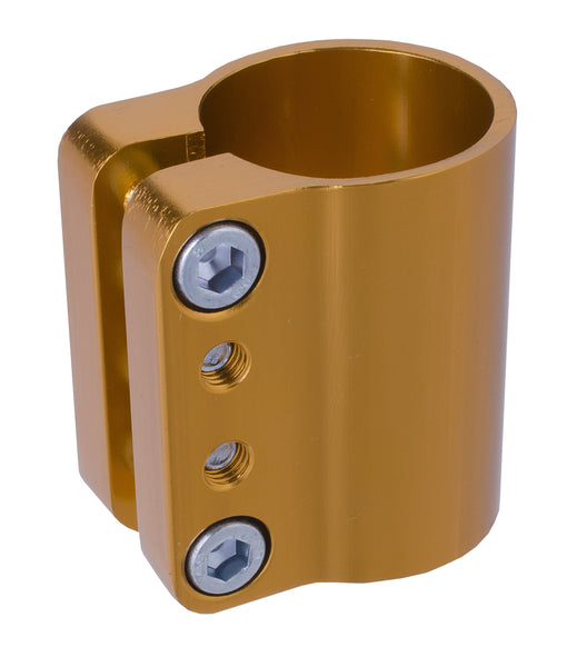 Grit Quad Clamp - Anodized Gold