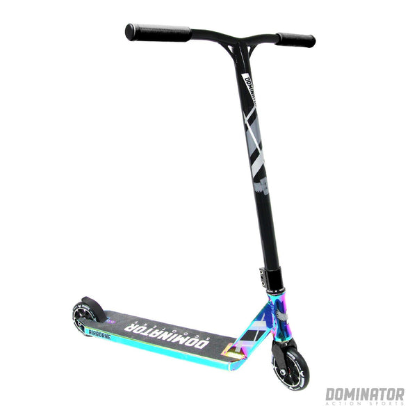 Dominator Airborne Complete Scooter - Colour Chrome / Black