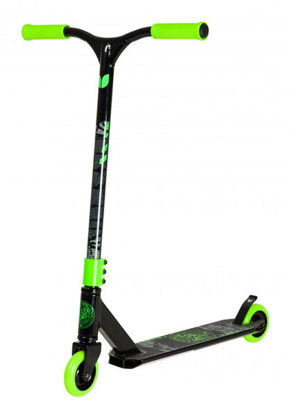 Blazer Pro Complete Scooter Decay Series Wired Black/Green - Indigo Scooters