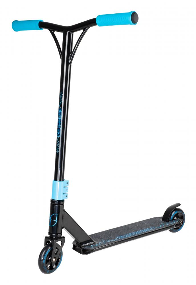 Blazer Pro Complete Scooter Distortion Series-Black/Blue - Indigo Scooters