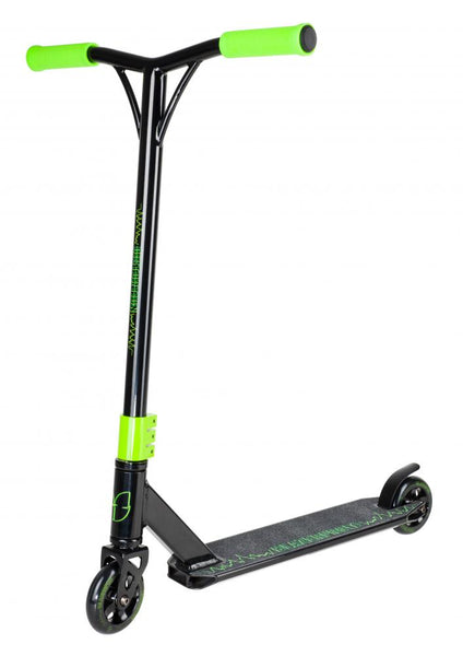 Blazer Pro Complete Scooter Distortion Series-Black/Green - Indigo Scooters