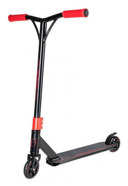 Blazer Pro Complete Scooter Distortion Series-Black/Red - Indigo Scooters