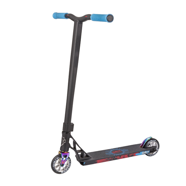 Grit Scooters Elite Complete Scooter - Satin Black / Colour Chrome