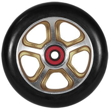 MGP FILTH 110mm Wheel - Gold / Black - Indigo Scooters