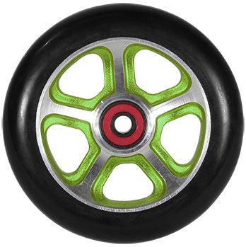MGP FILTH 110mm Wheel - Green / Black - Indigo Scooters