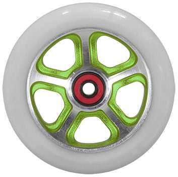 MGP FILTH 110mm Wheel - Green / White - Indigo Scooters