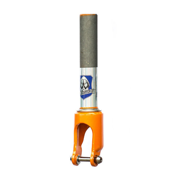Grit Chromoly SCS Fork - Gloss Orange