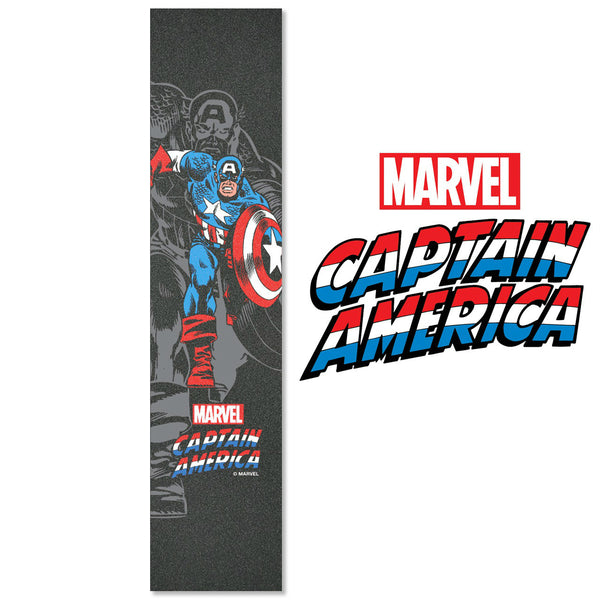 "MADD Marvel 4.5"" x 22"" Grip Tape - Captain America - Indigo Scooters"