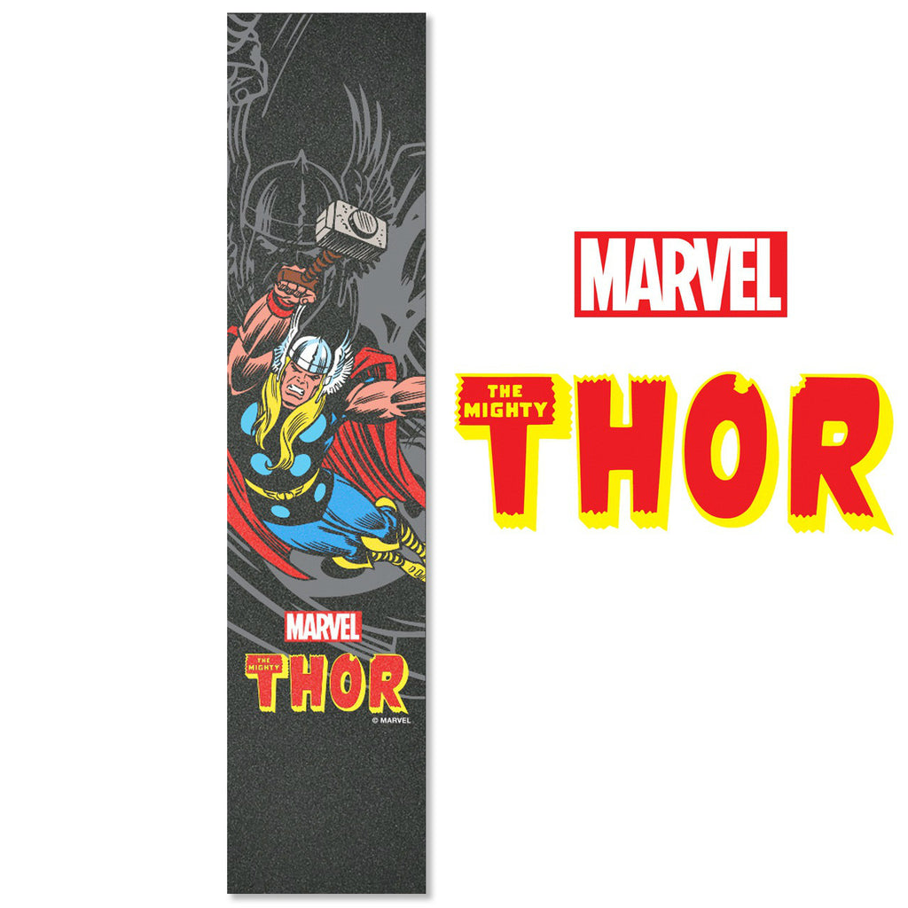 "MADD Marvel 4.5"" x 22"" Grip Tape - Thor - Indigo Scooters"