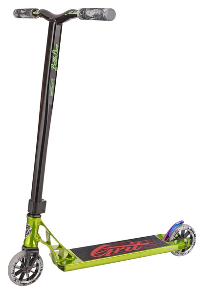 Grit Scooters Tremor Complete Scooter - Polished Green / Black