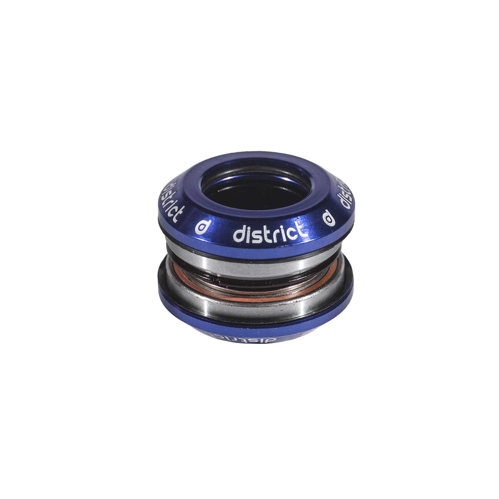 District S-Series Head Integrated Blue - includes 25.4 top cap and compression ring