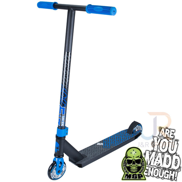 MADD Kick Extreme II Stunt Scooter -Black/Blue