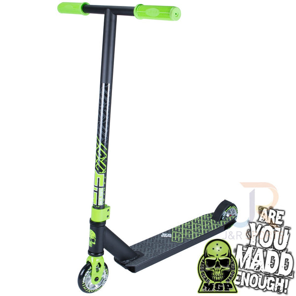 MADD Kick Extreme II Stunt Scooter -Black/Lime