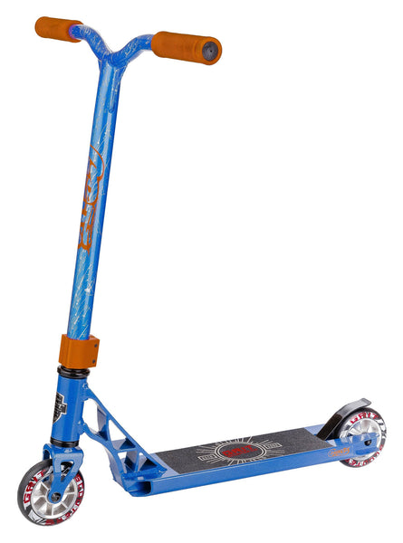 Grit Scooters Mini Fluxx complete scooter - Satin Blue / Blue Silver Laser