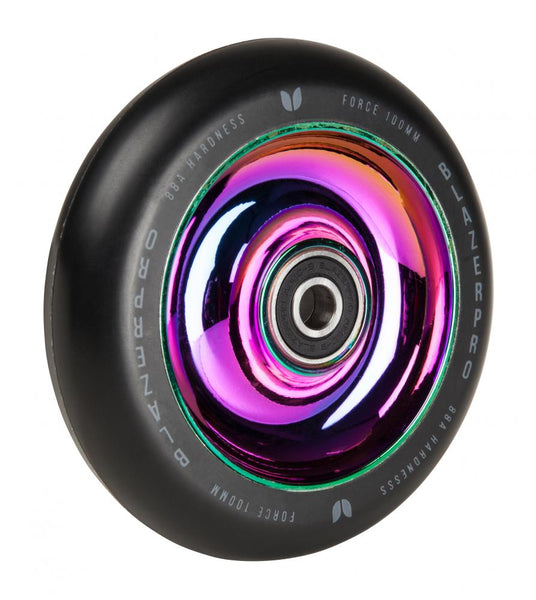 Blazer Pro Scooter Wheel Force 100mm with Abec 9-Neochrome-100 MM