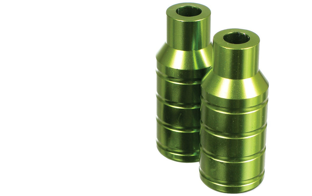 MGP Integrated Extreme Stunt Pegs - Green - Indigo Scooters