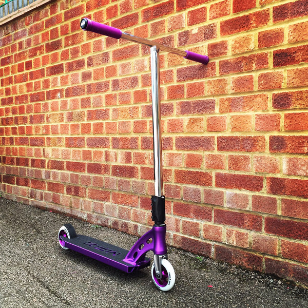 MGP MFX Vicious Custom Scooter - Purple / Chrome - Indigo Scooters - 1