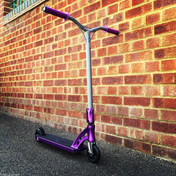 MGP MFX Sacci Custom Scooter - Purple / Gun Metal - Indigo Scooters - 1