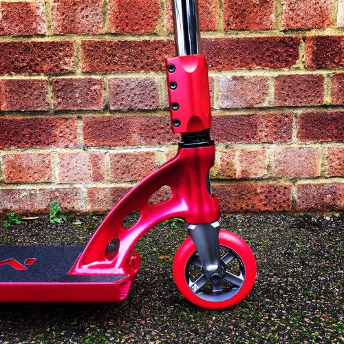MGP MFX Sacci Custom Scooter - Red / Chrome - Indigo Scooters - 4