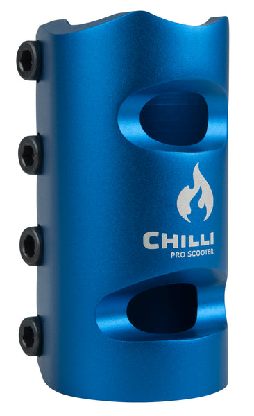 Chilli SCS 4 Bolt Oversize Clamp Blue