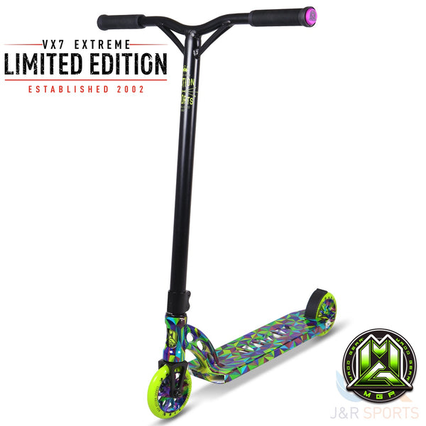 MGP VX7 Extreme LE Stunt Scooter - TESSELLATION