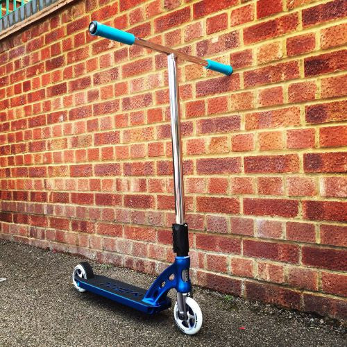 MGP MFX Vicious Custom Scooter - Blue / Chrome - Indigo Scooters - 1