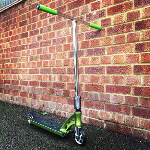 MGP MFX Vicious Custom Scooter - Green / Chrome - Indigo Scooters - 1