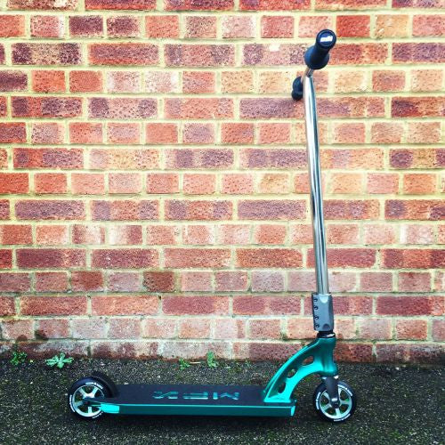 MGP MFX Vicious Custom Scooter - Teal / Chrome - Indigo Scooters - 2
