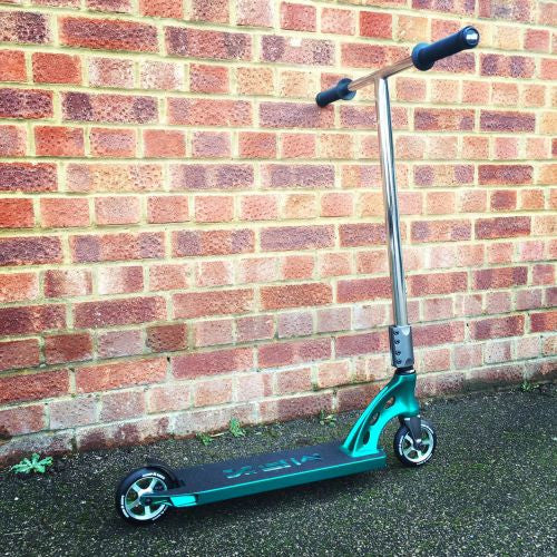 MGP MFX Vicious Custom Scooter - Teal / Chrome - Indigo Scooters - 3
