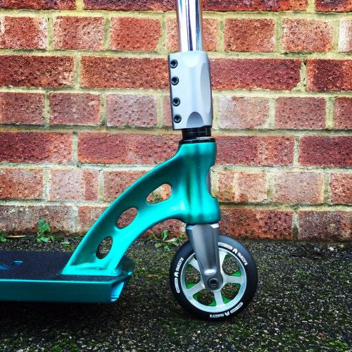 MGP MFX Vicious Custom Scooter - Teal / Chrome - Indigo Scooters - 4