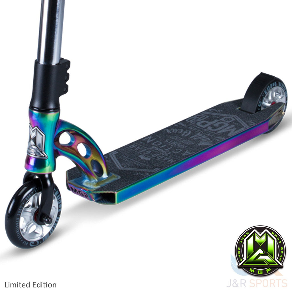 MGP VX7 Team Limited Edition Stunt Scooter-Neo Chrome/Black - Indigo Scooters - 4