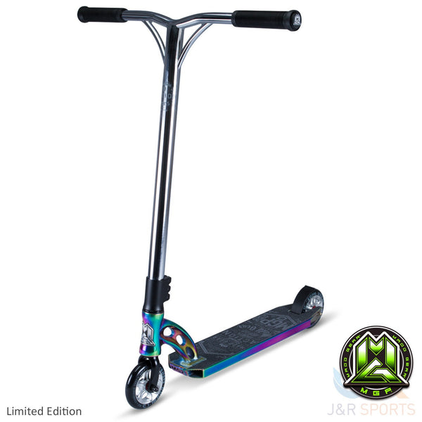 MGP VX7 Team Limited Edition Stunt Scooter-Neo Chrome/Black - Indigo Scooters - 1