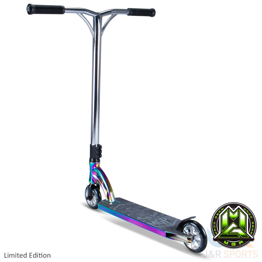 MGP VX7 Team Limited Edition Stunt Scooter-Neo Chrome/Black - Indigo Scooters - 2