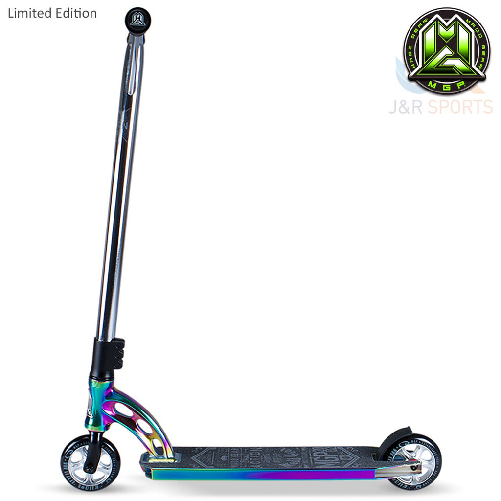 MGP VX7 Team Limited Edition Stunt Scooter-Neo Chrome/Black - Indigo Scooters - 3