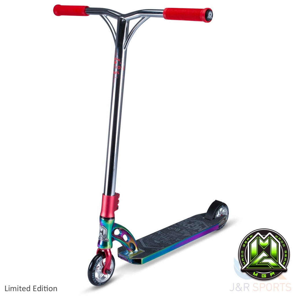 MGP VX7 Team Limited Edition Stunt Scooter-Neo Chrome/Red - Indigo Scooters - 1