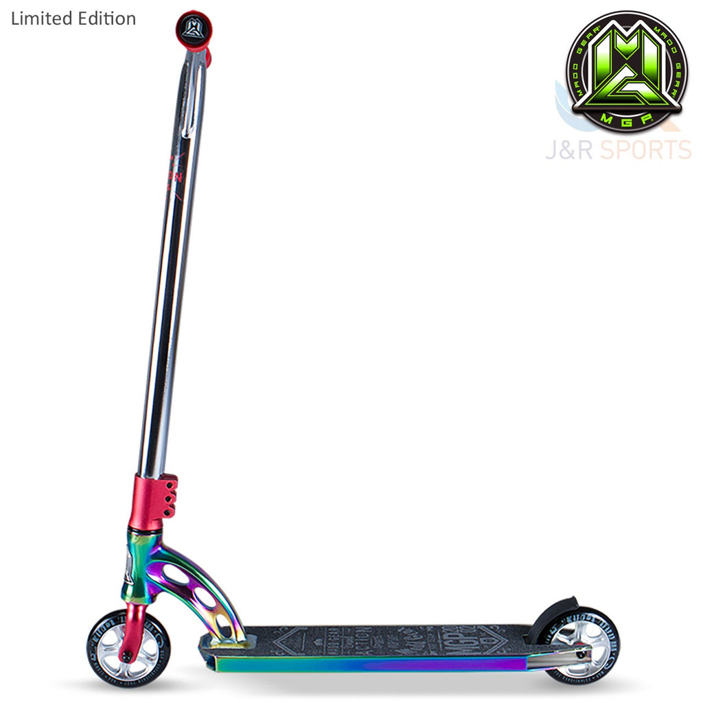 MGP VX7 Team Limited Edition Stunt Scooter-Neo Chrome/Red - Indigo Scooters - 3
