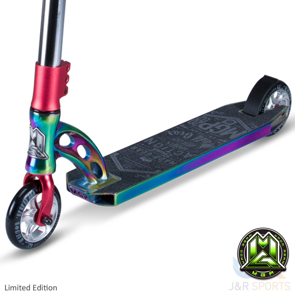 MGP VX7 Team Limited Edition Stunt Scooter-Neo Chrome/Red - Indigo Scooters - 4