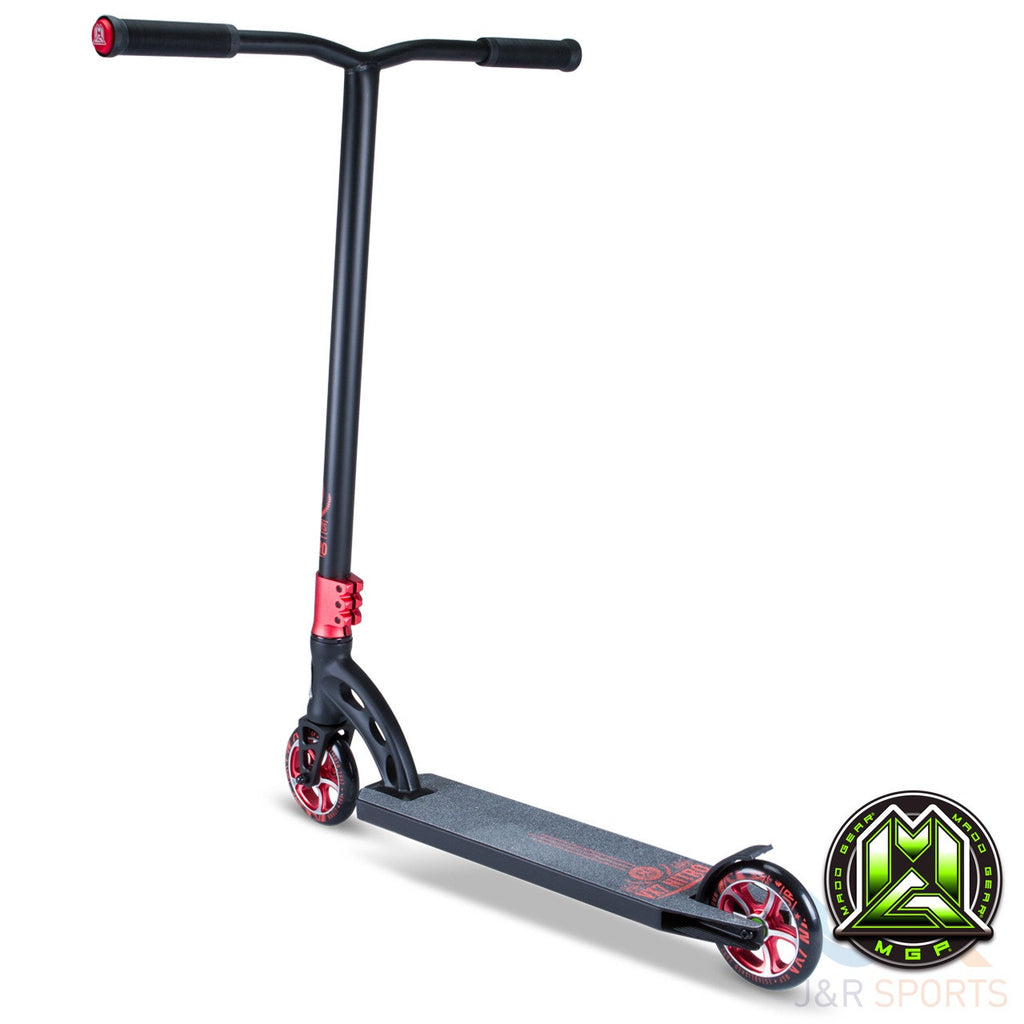MGP VX7 Nitro Stunt Scooter - Black/Red - Indigo Scooters - 2