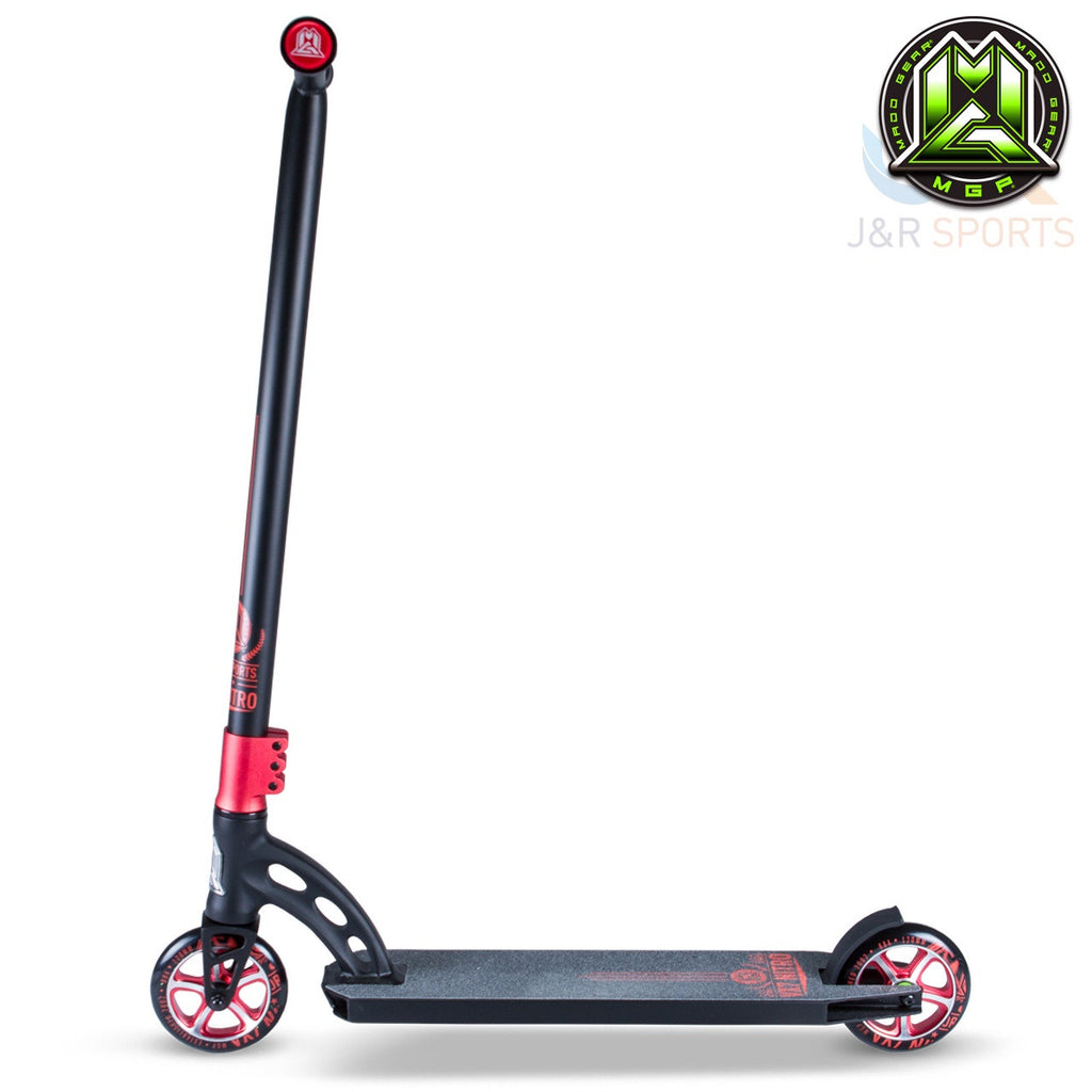 MGP VX7 Nitro Stunt Scooter - Black/Red - Indigo Scooters - 5