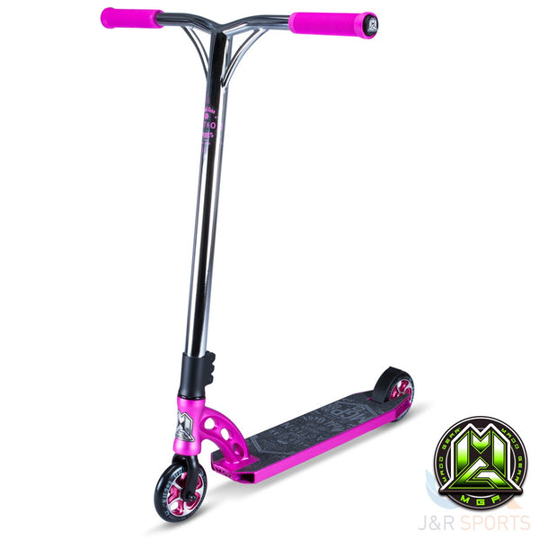 MGP VX7 Team Stunt Scooter - Pink / Chrome - Indigo Scooters - 1