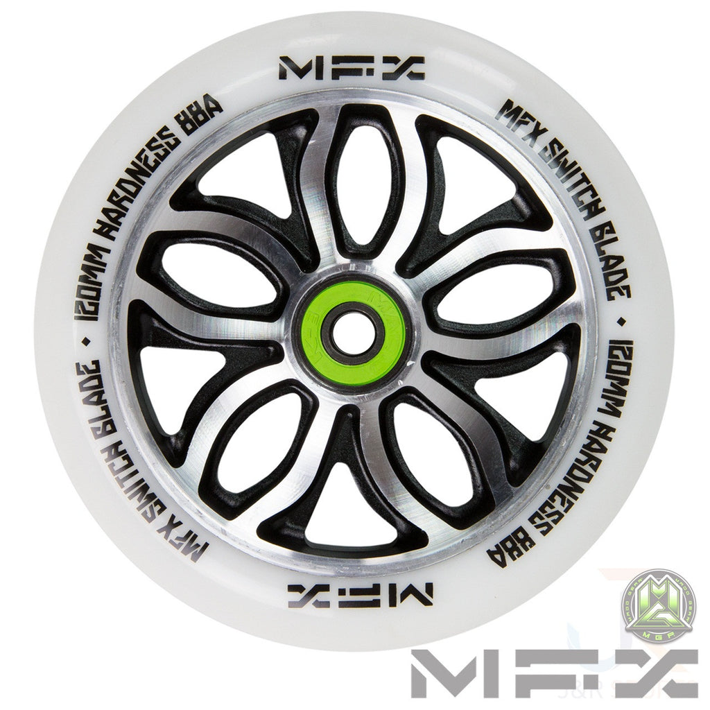 "MGP MFX ""R Willy"" Switchblade Signature Wheel 120mm - White"