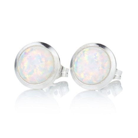 Opal Studs 6mm - all colours