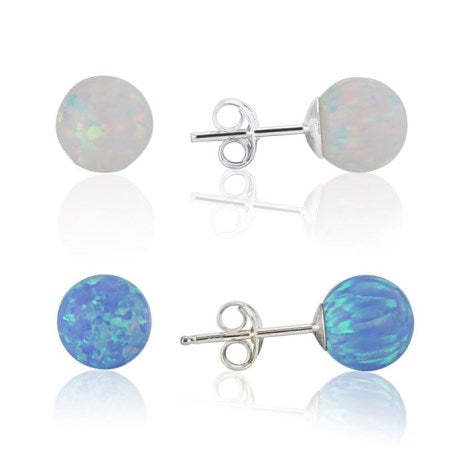 Opal Ball Stud - all colours