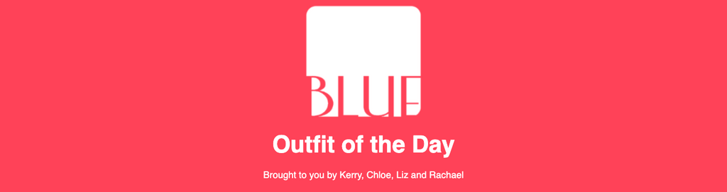 Blue Women's Clothing Outfit Of The Day