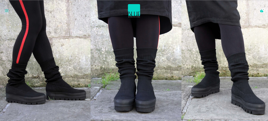 Comfortable and stylish winter boots by Lofina online at Blue UK