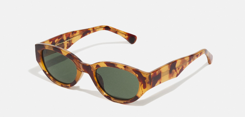 Win a pair of sunglasses at Blue. Style name Winnie, by Danish brand A.KAERBEDE