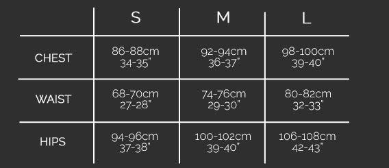 Lurdes Bergada Size Guide at Blue Women's Clothing