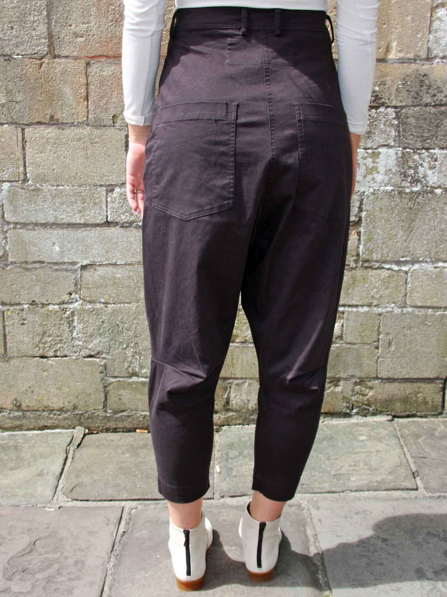 RUNDHOLZ Drop Crotch Trousers