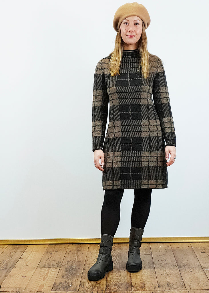 Pour Moi Plaid Dress