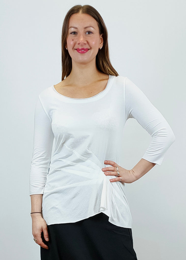 Rundholz 3/4 sleeve top